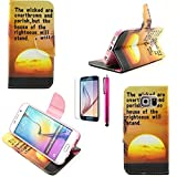 A7 Case, Casemart Highly Quality Premium PU Leather [Book Style] Stand Case Cover Full Protective [Card Holder] Modern Wallet Style Shell Case for Samsung Galaxy A7 -Sun
