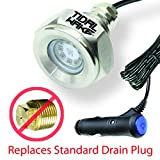 Tidal Wake Plug N' Play Underwater LED Boat Drain