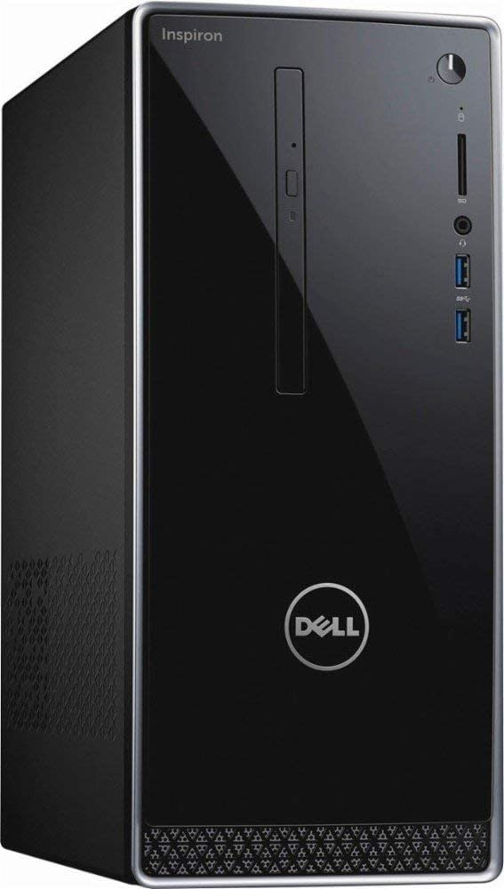 2019 Dell Inspiron 3668 Business Gaming Desktop Computer, Intel Quad‑Core i7-7700 up to 4.2Hz, 16GB DDR4, Nvidia GeForce GTX 1050, 128GB SSD+1TB HDD, Bluetooth 4.0, USB 3.0, Windows 10 Professinal