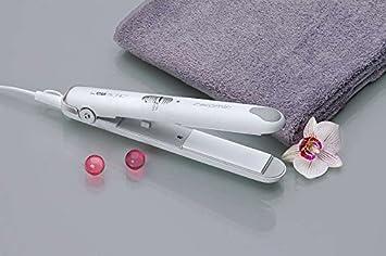 Plancha de pelo con placas de cerámica pelo alisador de pelo cabello Soft Touch multicurler (Sparsame 20 W + barómetro Diseño): Amazon.es: Hogar