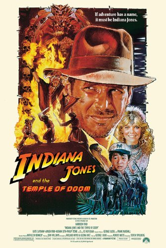 Indiana Jones and the Temple of Doom - Group Credits Movie