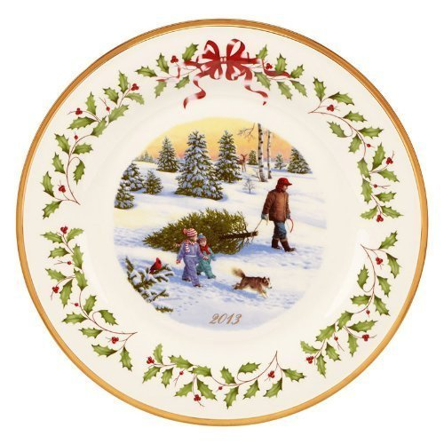 Lenox 2013 Annual Holiday Decorative Plate