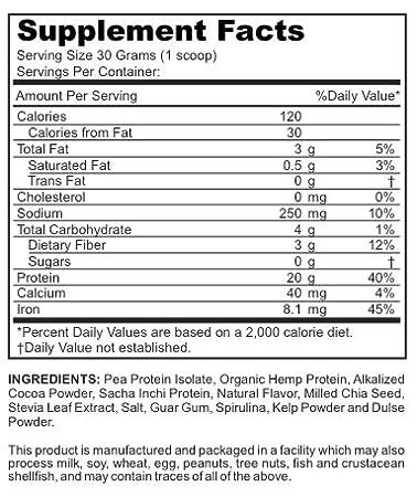 Amazon.com: Veggie Mama jardín proteínas: proteínas en polvo ...