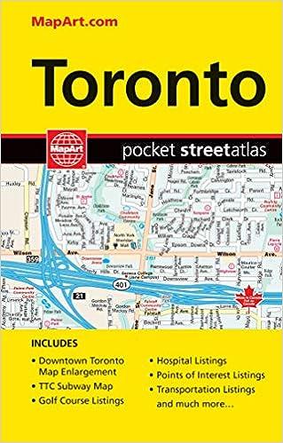 Toronto Pocket Guide: cccmaps.com: 9781553680734: Books ... on