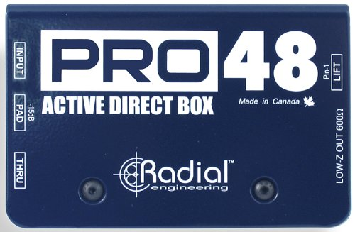 Radial Pro48 Active 48-Volt Compact Direct Box by Radial Engineering