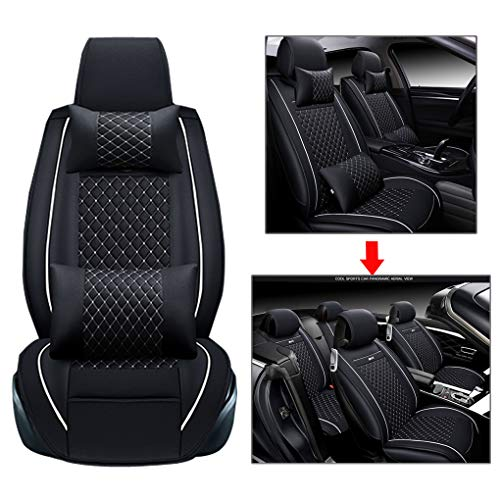 - GM seat Cover, Full car seat Set Front seat + Rear seat, Suitable for Suitable for Most Models (Family car, Pickup, SUV, mpv),Black