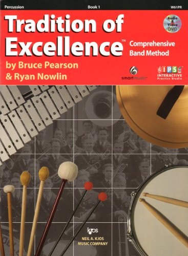 W61PR - Tradition of Excellence Book 1 Percussion: Bruce Pearson ...