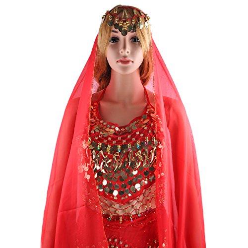 Symbollife Belly Indian Dance Costumes Bauchtanz Kostum Damen