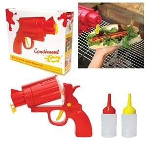 Ketchup or Mustard BBQ Condiment Gun