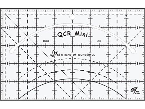 Sew Kind of Wonderful QCR Mini Ruler, Original Version