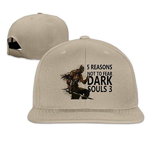 MaNeg Dark Souls 3 Unisex Fashion Cool Adjustable Snapback Baseball Cap Hat One - Mens Prada Hat