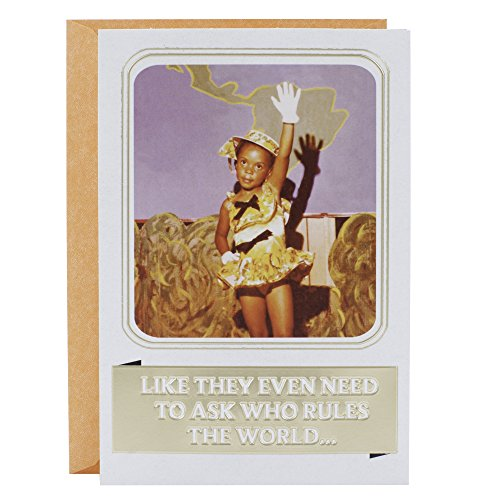 hogany Greeting Card (Keep Doing Your Fabulous, Girl!) (Fabulous Birthday Card)