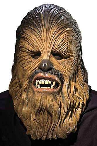 [Mememall Fashion Chewbacca Deluxe Adult Latex Mask] (Deluxe Cow Mask)