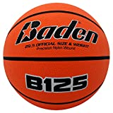 Baden Official Deluxe Rubber Basketball, 28.5-Inch