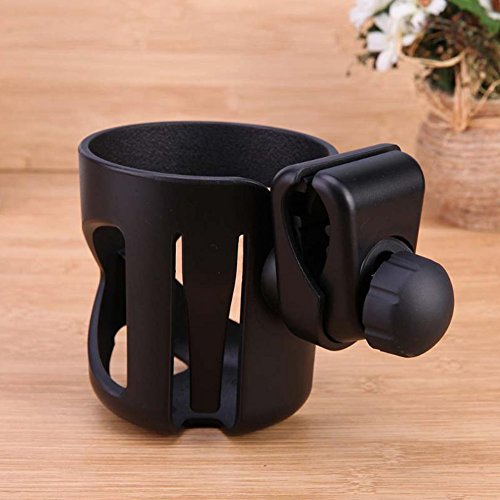 Ireav Baby Stroller Cup Holder Rotatable Holder Baby Stroller Parent Console Organizer Cup Bicycle Bottle Cup Rack by Ireav (Image #1)