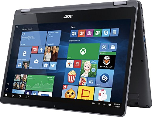 2017 Acer Aspire 15.6 2-in-1 Convertible FHD IPS Touchscreen High Performance Laptop, Intel Core i5-7200U 2.5GHz, 8GB Memory, 1TB HDD, Backlit Keyboard, Bluetooth, Wi-Fi, Windows 10
