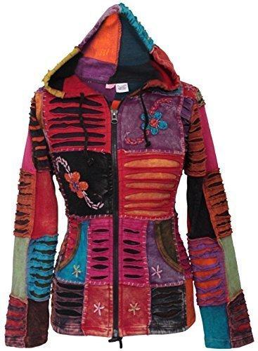 SHOPOHOLIC FASHION - Sudadera con capucha - Capucha - para mujer mezcla de morado