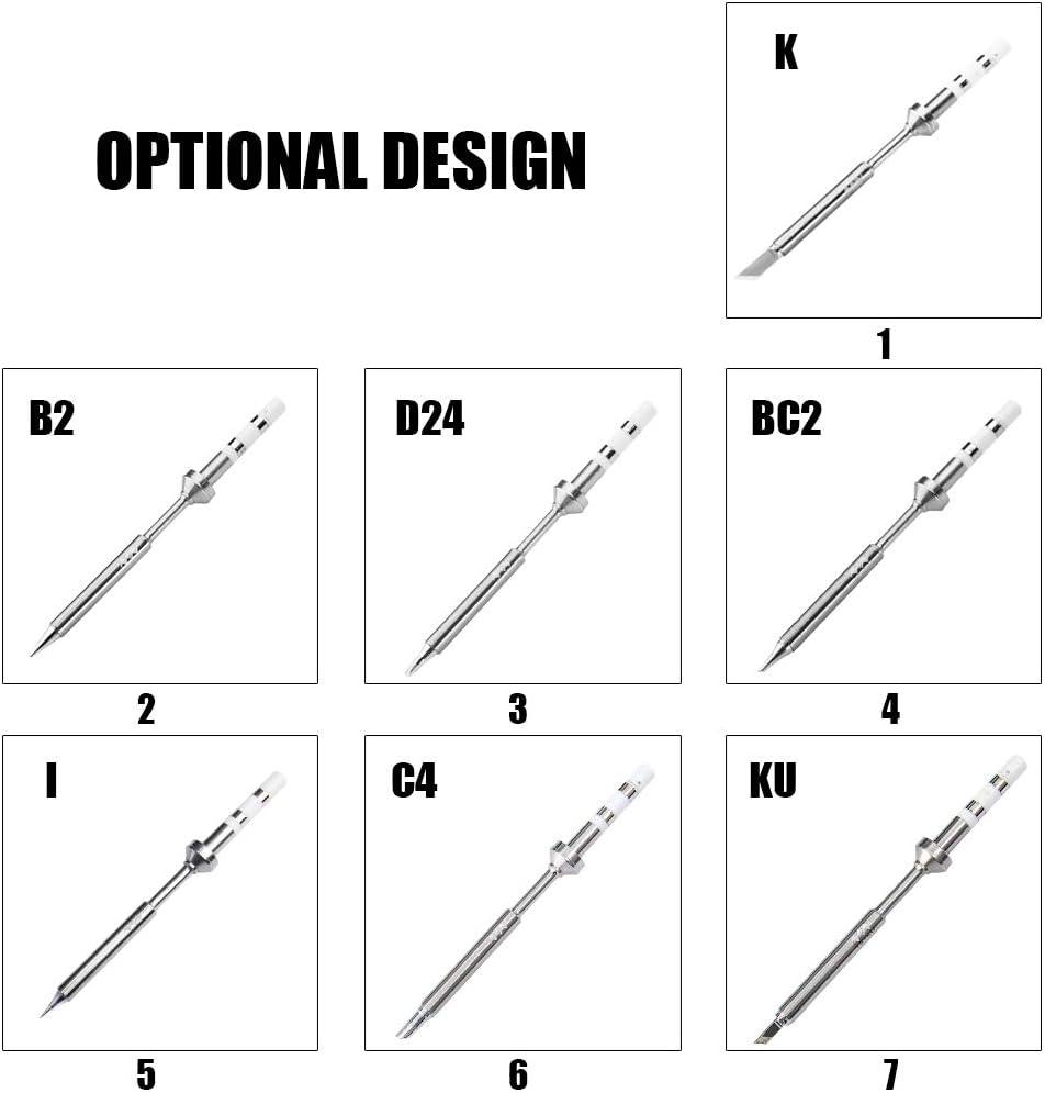 Roeam Typ TS-I Original Ersatz L/ötspitze Professionelle Schwei/ßwerkzeug Zubeh/ör L/ötkolbenspitze wurde speziell f/ür den TS100 Digital LCD L/ötkolben