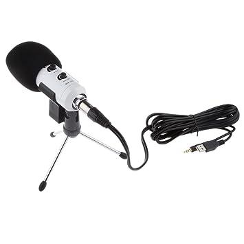 Herramienta PC Studio mesa USB micrófono de condensador Stand ...
