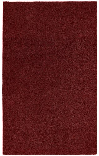 Burgundy Carpet - Garland Rug Room Size Bathroom Carpet, 5-Feet by 6-Feet, Burgundy