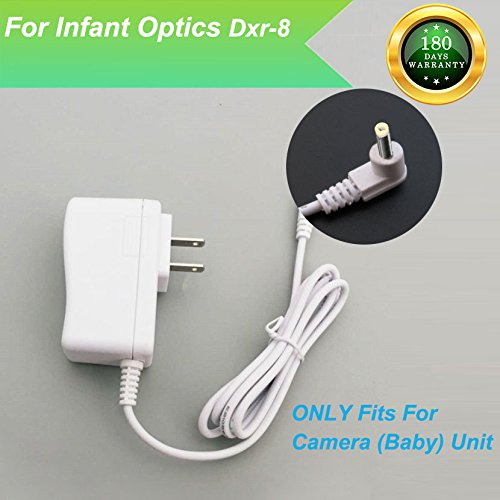 For Infant Optics DXR-8 Baby Monitor Charger Power Cord Replacement Adapter Supply Compatible with DXR-8, 6V, 6.6Ft