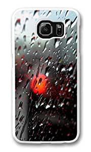 Samsung Galaxy S6 Case, Samsung Galaxy S6 Cases -Fresh Rain Drops PC Hard Plastic Case for Samsung S6/Samsung Galaxy S6 Whtie Kimberly Kurzendoerfer