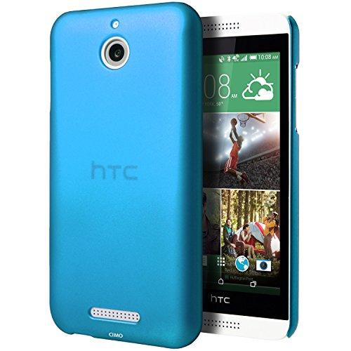 HTC Desire 510 Case, Cimo [Satin] Ultra Slim Matte Soft Touch Hard Case for HTC Desire 510 (2014) - Blue