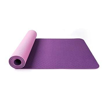GQHW Colchoneta de Yoga, Estera de Yoga Antideslizante TPE ...