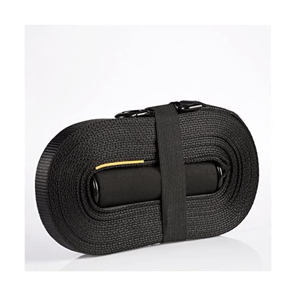 Dog Training Lead for Dogs and Puppies - 30 Foot Long with Padded Foam Barrel Handle - Free Carry Bag - Made from Strong Nylon - 1 Inch Wide 5