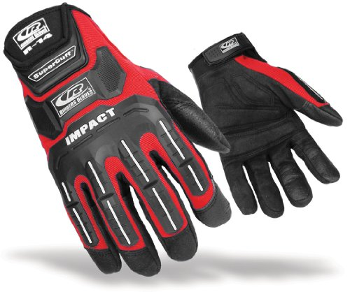 Ringers Gloves R-14 Impact Glove, Red, X-Large