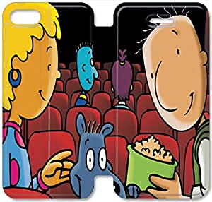Screen Protection Phone Cases Doug'S 1St Movie-11 iPhone 6/6S 4.7 Inch Leather Flip Case