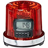 Fan Fever 99210 NHL League Logo The Goal Light Alarm Clock, Small, Black