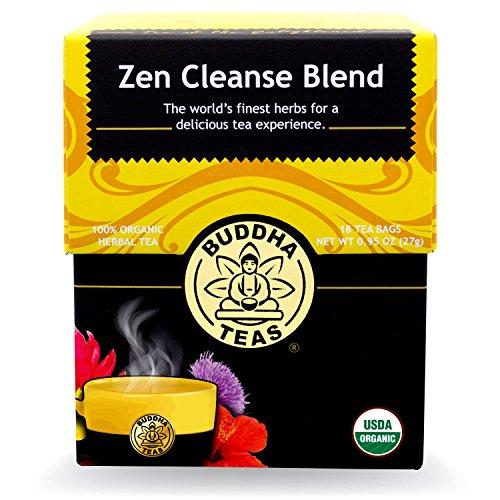Buddha Teas Zen Cleanse Blend, 18 Count (Pack of 6)