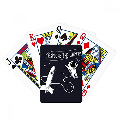 Universe And Alien Space Travel Poker Playing Card Tabletop Board Game Gift by beatChong