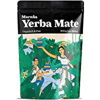 Maraña Yerba Mate Tee Grün ● Natürlicher Wachmacher Energy Booster ● 500g lose Blätter ● Organisch Fair ● Brasilien