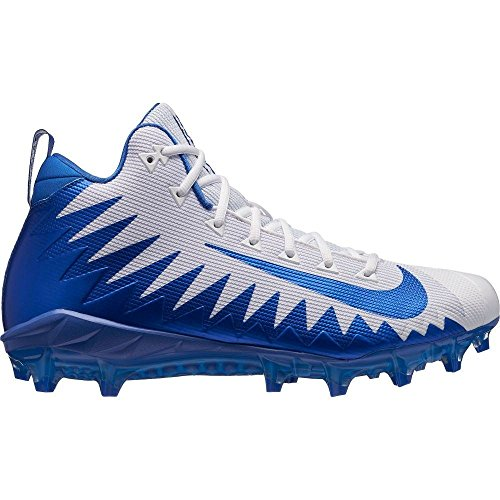危険にさらされている露なめる(ナイキ) Nike メンズ アメリカンフットボール シューズ?靴 Alpha Menace Pro Mid Football Cleats [並行輸入品]