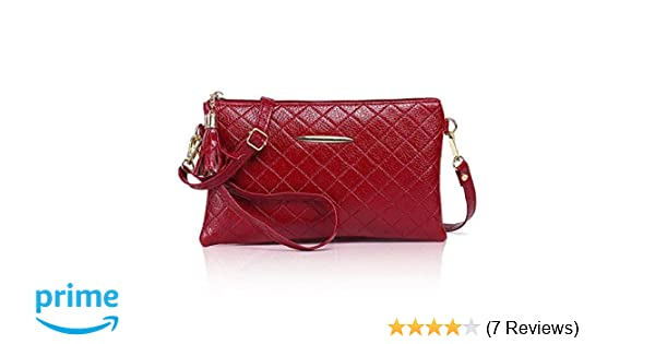 Zg Small Crossbody Purse for Women, Vegan Leather Wristlets, Clutch Wallet Purse with Shoulder Strap: Handbags: Amazon.com