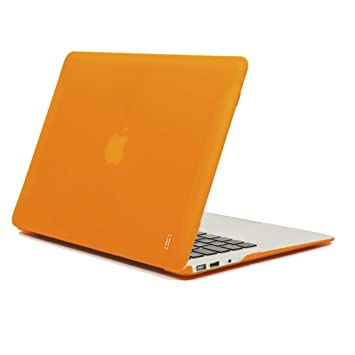 "Aiino Hard Shell - Funda dura para portátil Apple MacBook Air 11"", color naranja"