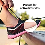 """NATARIFITNESS..COM  51gyB55ea%2BL._SS150_ 12-Pack Metatarsal Foot Pads for Pain Relief - 1/4"""" Thick, Ball of Foot Cushions for Women and Men, Forefoot and Sole…"""