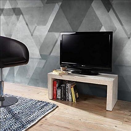 Panche Porta Tv.Stones Panca Porta Tv Fossilstone Amazon It Casa E Cucina