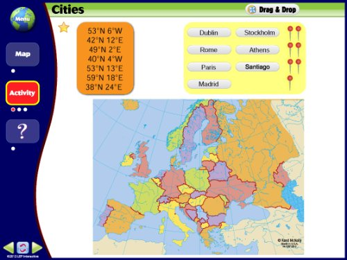 Amazon.com: Map Skills: Europe IWB CD: Ready-to-use Digital Lesson ...