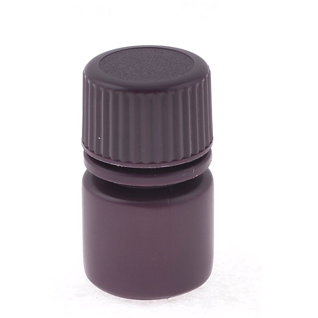 uxcell Screw Cap Cover 5ml Liquid Chemicals Storage Reagent Bottle Maroon