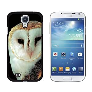 Barn Owl - Bird - Snap On Hard Protective Case for Samsung Galaxy S4 - Black by ruishername