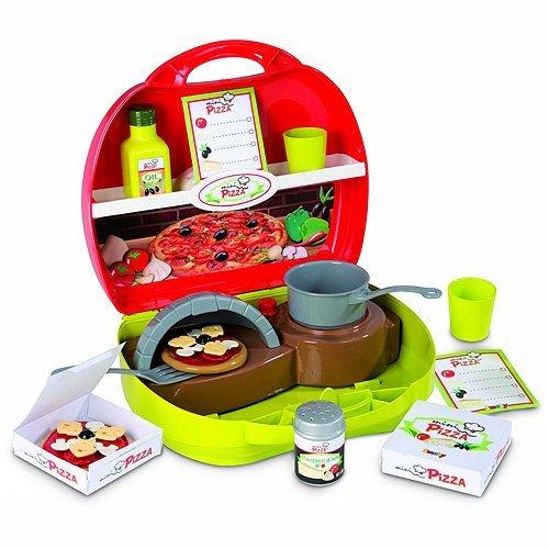 Spielherd - Smoby Mini Pizza Küche - Kofferküche