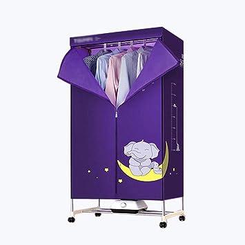 ZJYFHGJ Secador Secador doméstico Secador silencioso Secador de Aire Caliente Secador de Ropa para bebés Secado rápido Armario, Secadora: Amazon.es