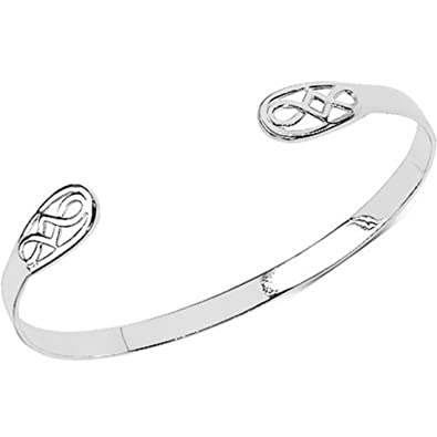 925 Sterling Silver Rennie Mackintosh Style Ladies Bracelet. wV5mF4