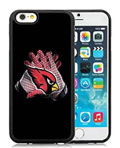Arizona Cardinals 03 Black TPU Case for iPhone 6 (4.7),Prefectly fit and directly access all the features