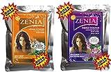 2014 Crop 100% Natural Zenia Indigo Hair Dye Kit Indigofera Tinctoria + Lawsonia Inermis Henna