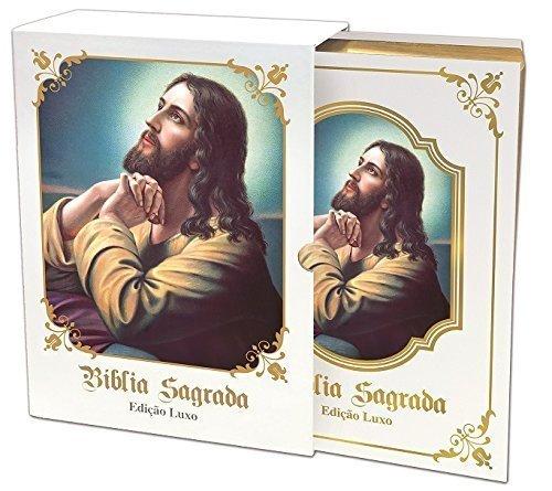 Bíblia Sagrada - Edição Luxo DCL (Branca)