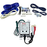 VM Audio 4 Gauge Car Amplifier Installation Wiring Wire Kit Amp + RCA+ Converter